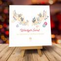 Kartki świąteczne biznesowe z logo Horns
