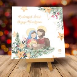 Kartki świąteczne biznesowe z logo Bonito