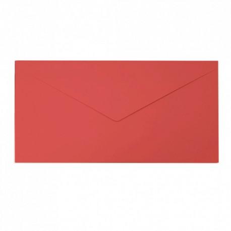 Koperta ozdobna DL czerwona matowa