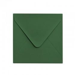 Koperta ozdobna 155x155 zielona matowa
